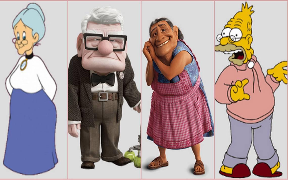 Ellos son los abuelitos del mundo animado que robaron nuestro corazón