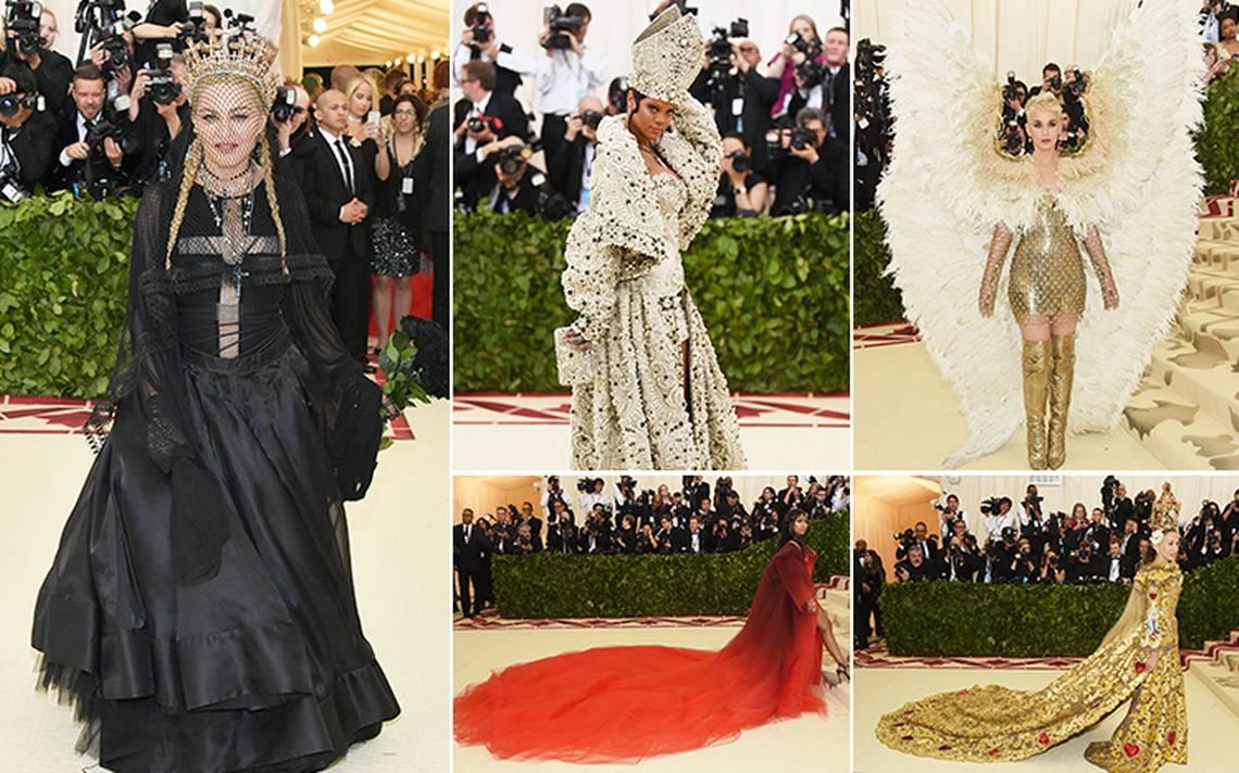 #MetGala2018 Dios viste a la moda: así desfiló la farándula en Nueva York