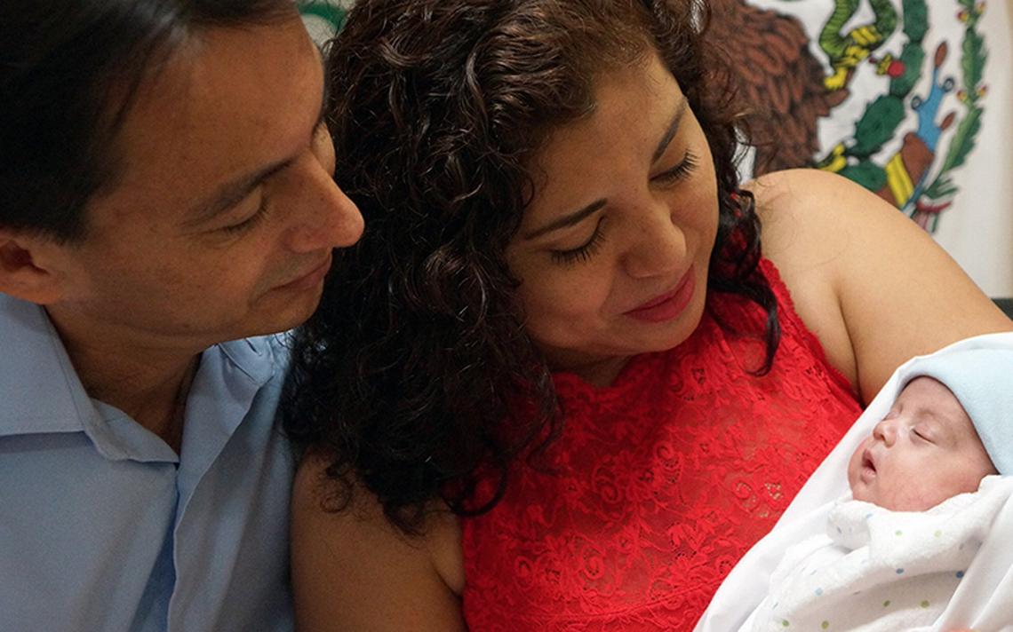 Bebé nace 14 días después de la muerte de su gemela en un parto espontáneo