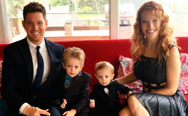 El hijo de Michael Bublé responde favorablemente ante cáncer