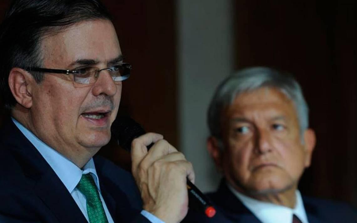AMLO propone a Ebrard como secretario de Relaciones Exteriores