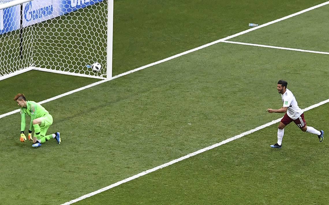 En video: este fue el primer gol de Carlos Vela en un Mundial