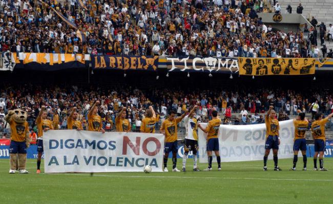 Hasta cuatro años de prisión por actos vandálicos en estadios, proponen