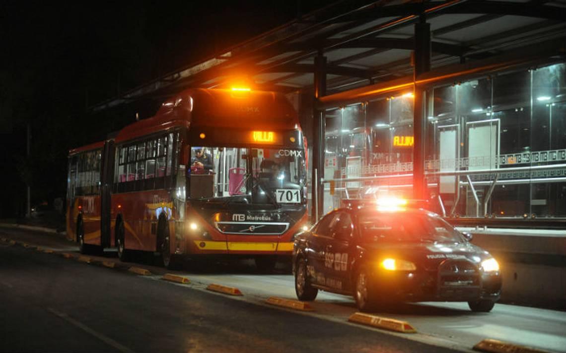 Otra vez, asaltan a pasajeros de la Línea 6 del Metrobús