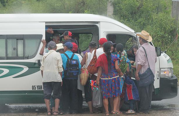 Sin autorización, transportistas  de la Huasteca suben sus tarifas