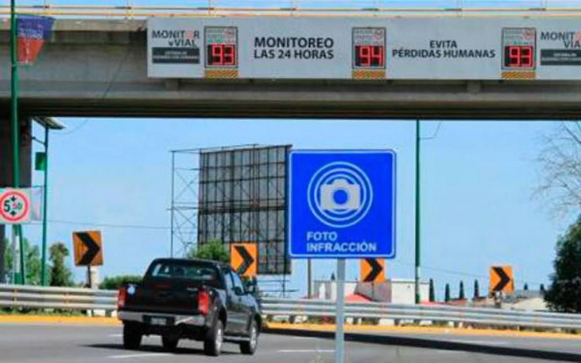 Puebla aplicará fotomultas a vehículos emplacados en otros estados