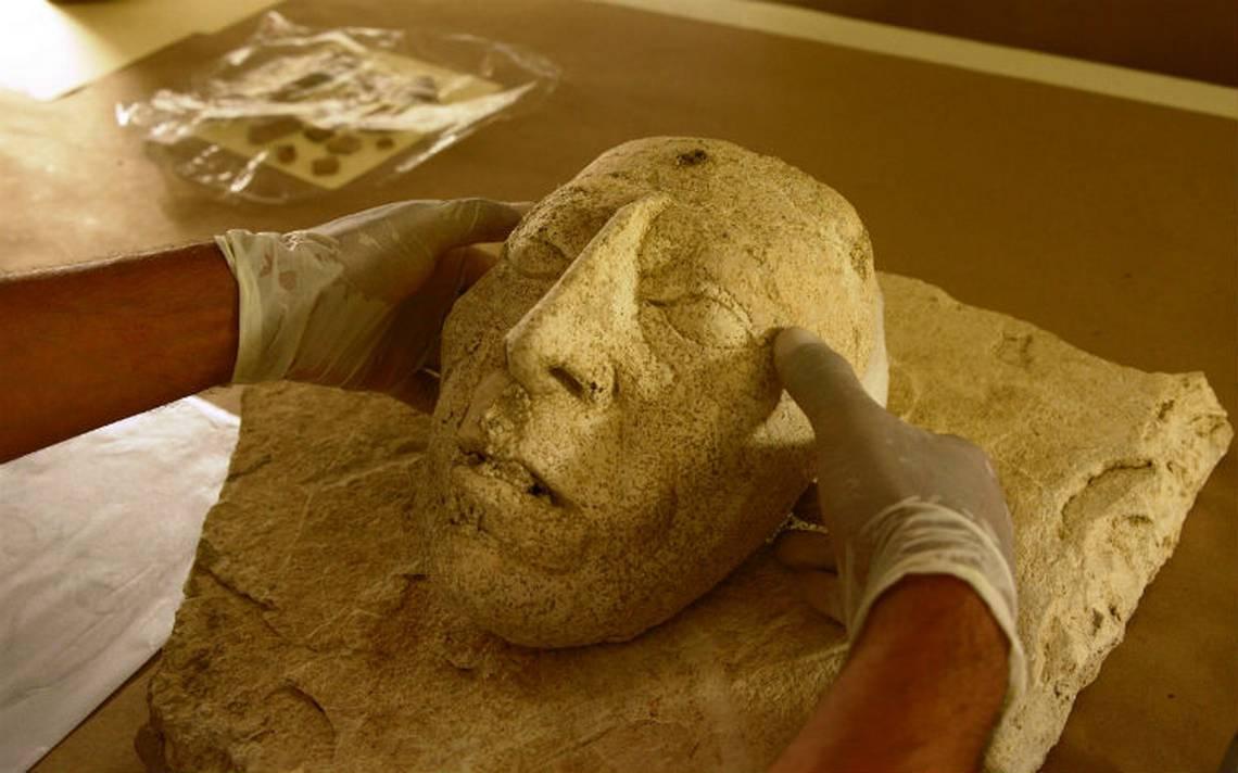 Hallan máscara del gobernante maya Pakal ¡aún con arrugas!