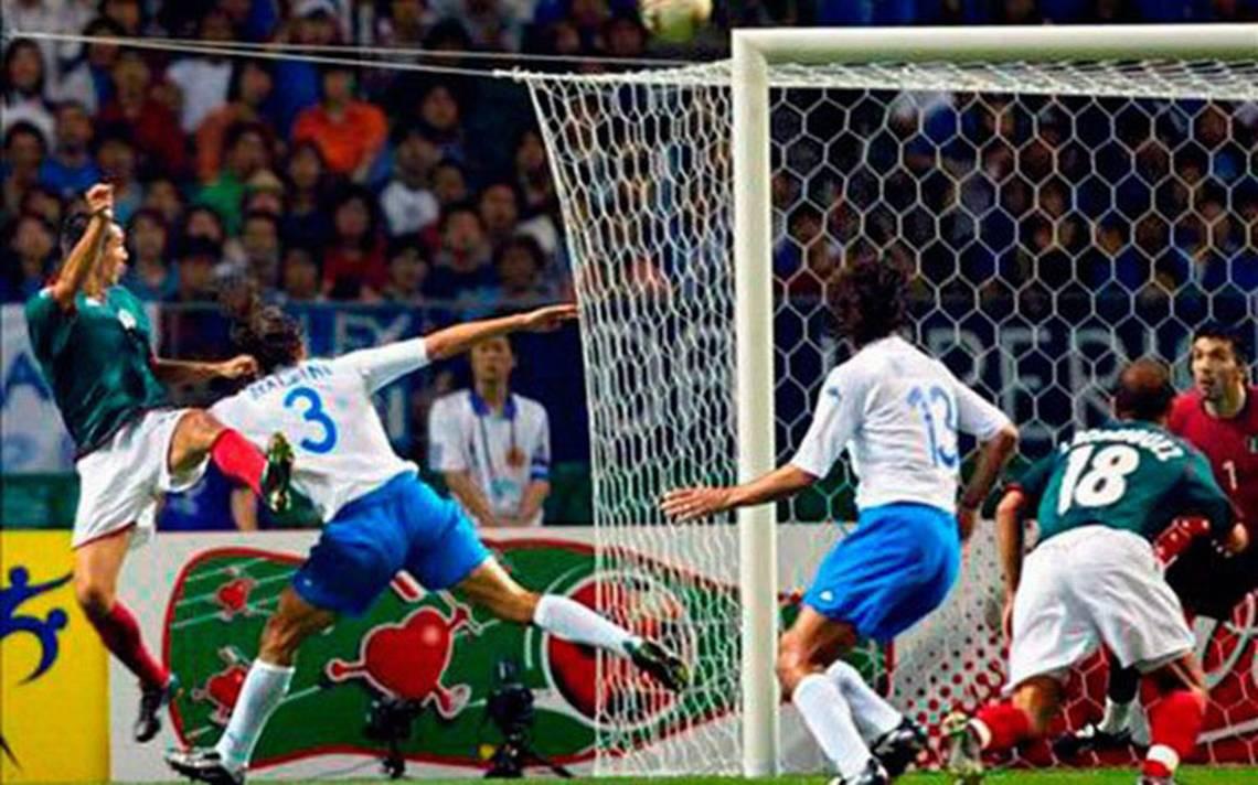 Negrete y Borguetti compiten por el mejor gol de la historia de los Mundiales