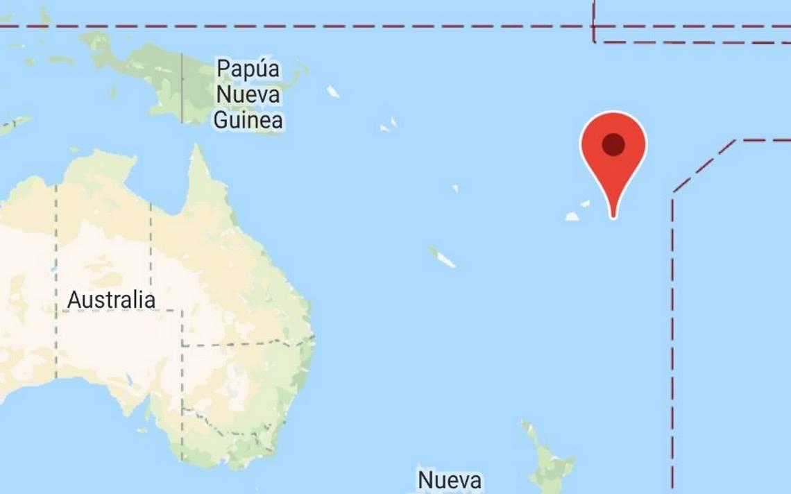 Descartan Tsunami tras sismo de magnitud 8,2 en las Islas Fiji