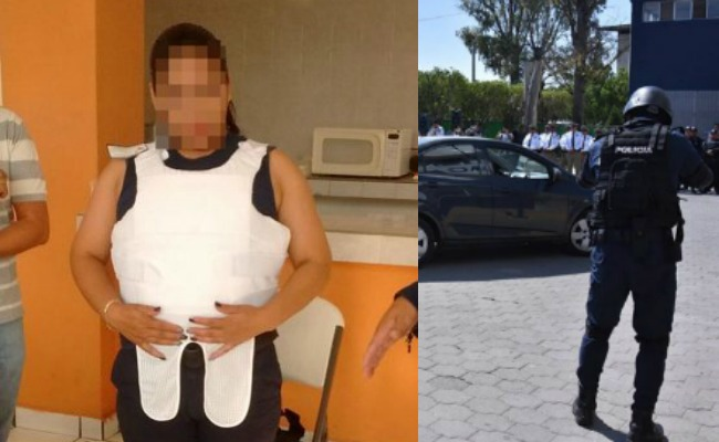 Equiparán a mujeres policía con chalecos a la medida