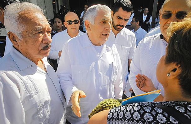 Llama Arturo Núñez a la unidad en torno al presidente Peña Nieto