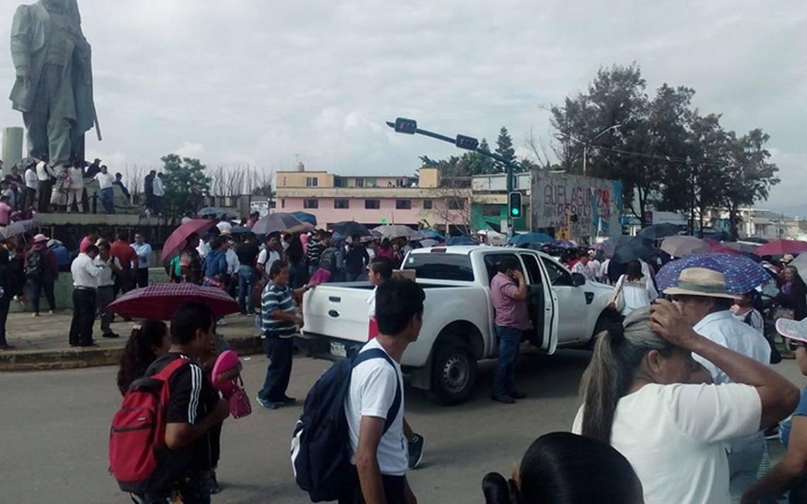 Protestas de la CNTE afecta al turismo en Oaxaca