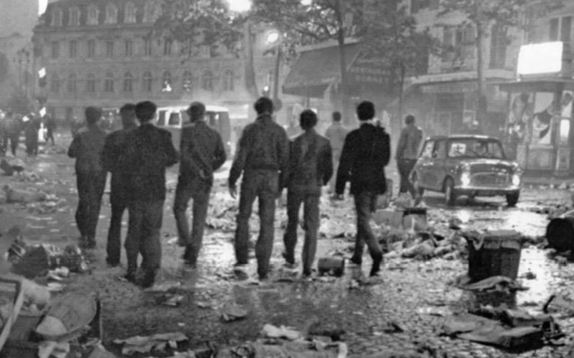 Mayo del 68, movimiento de profunda crítica cultural, social y política del capitalismo