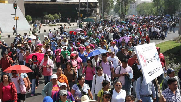 Marcha afectará la vialidad en el sur de la Ciudad de México