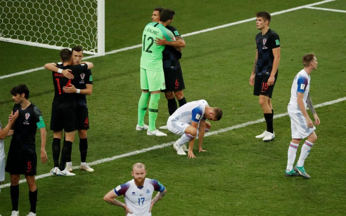 Croacia clasifica a octavos y elimina a Islandia del Mundial