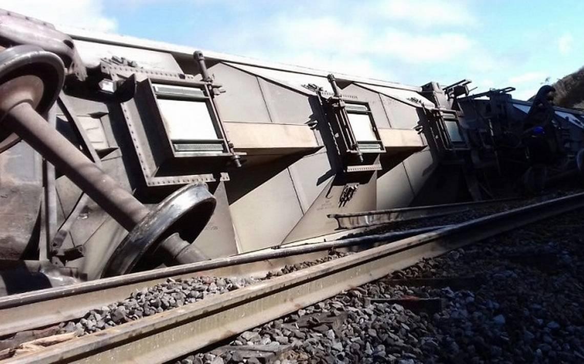Descarrilan tren para asaltarlo en Veracruz; transportaba arroz