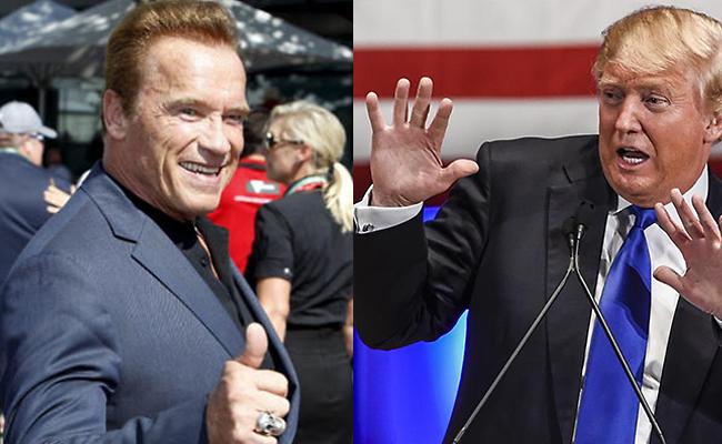 Trump critica poca audiencia de Schwarzenegger en The Apprentice