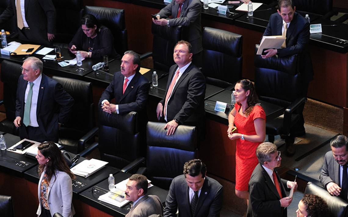 PRI rompe sesión en el Senado por discutir caso de César Duarte
