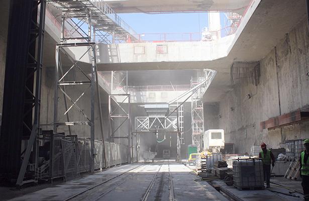Avanza tuneladora del Tren Ligero  de Guadalajara