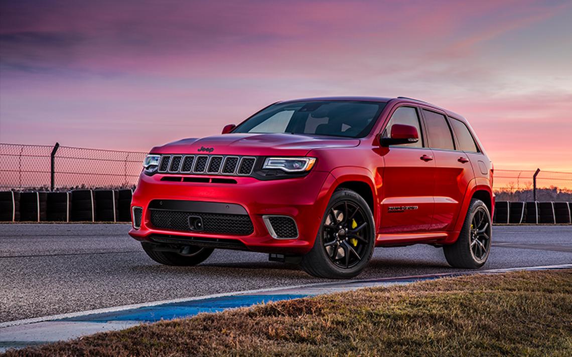 Jeep Grand Cherokee Trackhawk 2018 un SUV para todo terreno