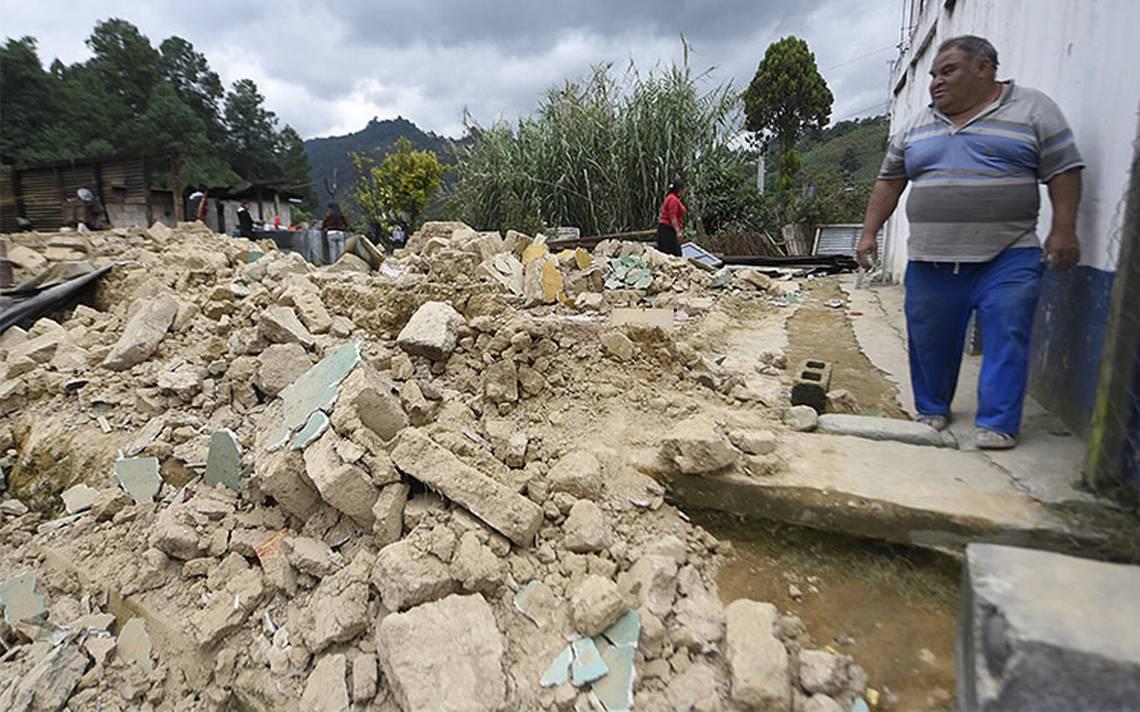 Sismo en México deja más de 4,700 afectados en Guatemala