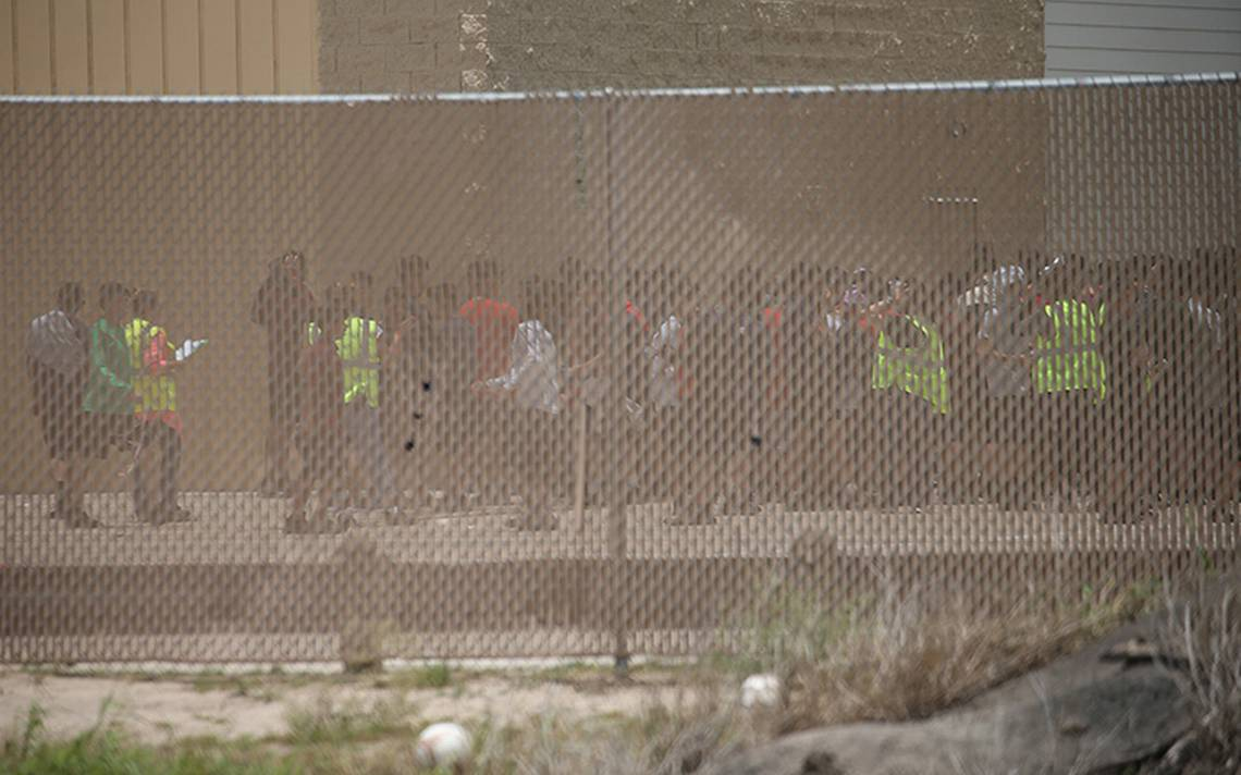 Nueve familias de la caravana migrante han sido separadas