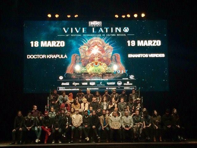 El Vive Latino se desarrollará de la mano de otras expresiones artísticas
