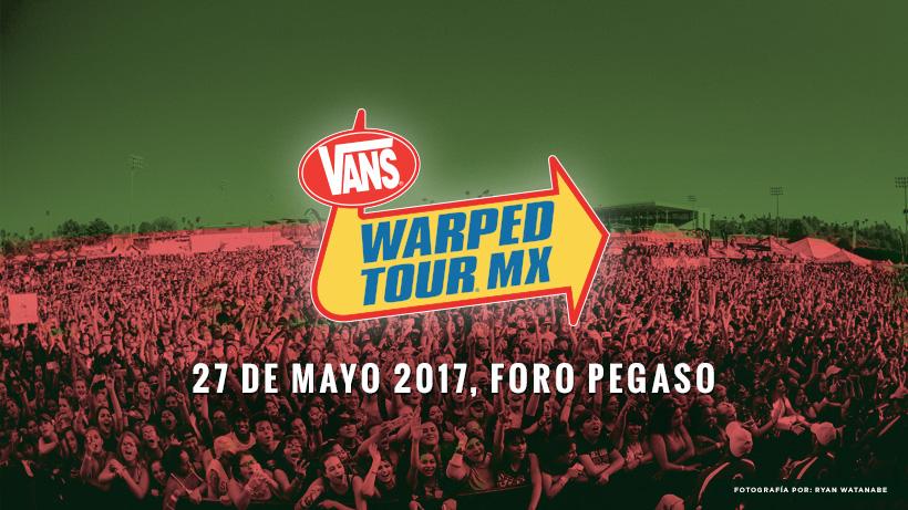 Llega a nuestro país el Vans Warped tour México 2017