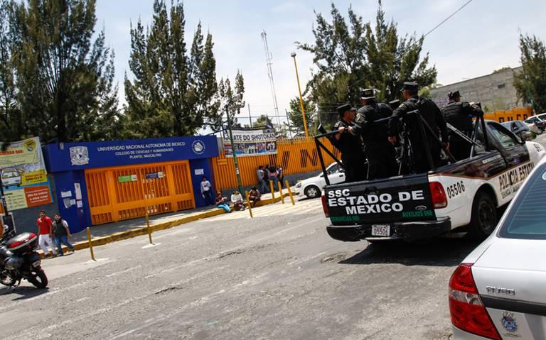 No hay denuncia, ni grabación de supuesta agresión a alumna del CCH Naucalpan