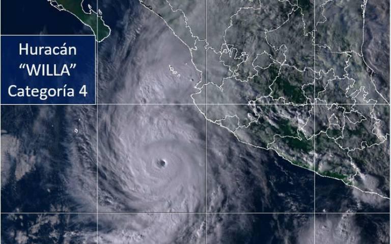 Sigue aquí el paso del huracán Willa