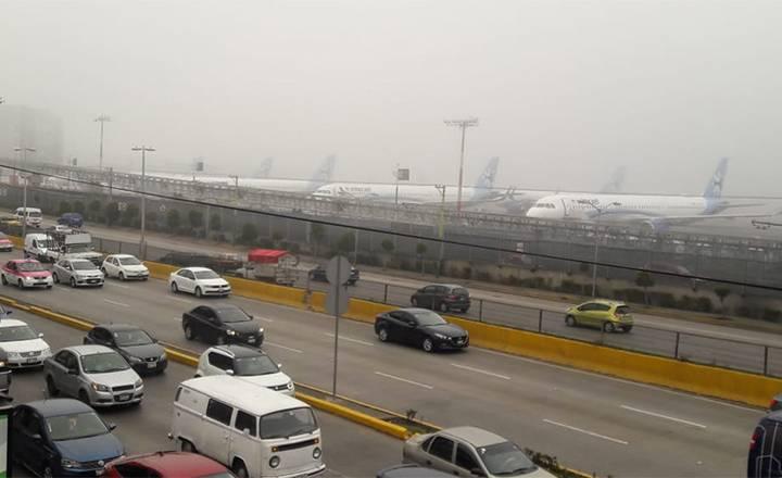 Se reanudan operaciones en el Aeropuerto de la Ciudad de México