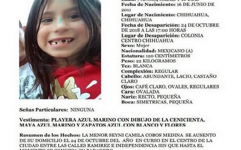 Encuentran muerta a la niña Camila Cobos secuestrada por chofer de Uber