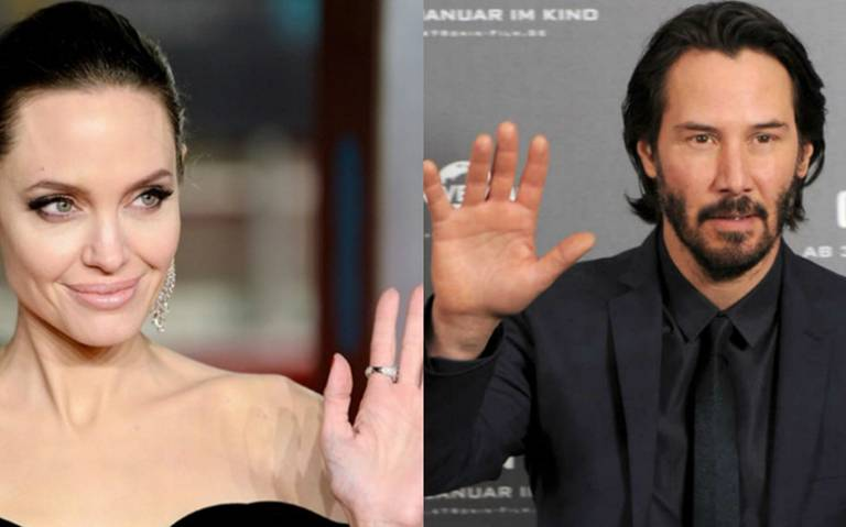 ¿Keanu Reeves es la nueva pareja de Angelina Jolie?