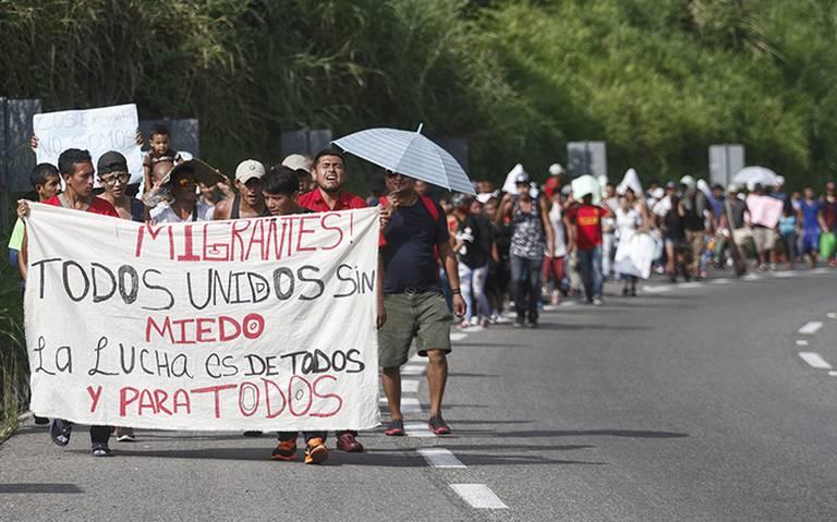 Caravana Migrante, paso a paso el recorrido por México hasta EU