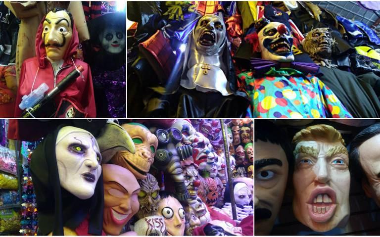 Estos precios no te asustarán, encuentra en La Merced tu disfraz para Día de Muertos