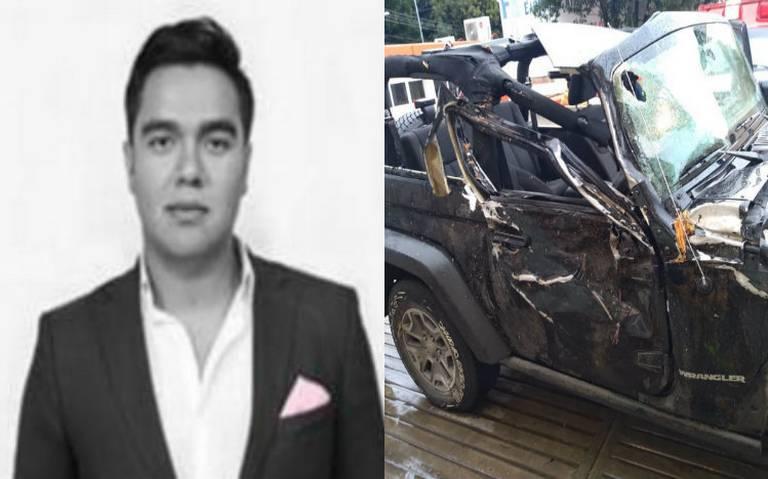 Ebrio, dirigente juvenil del PRI mata a su novia en accidente vial y se fuga