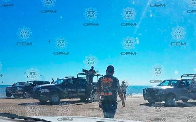 [Video] Se desploma helicóptero de la Marina en el Golfo de Santa Clara