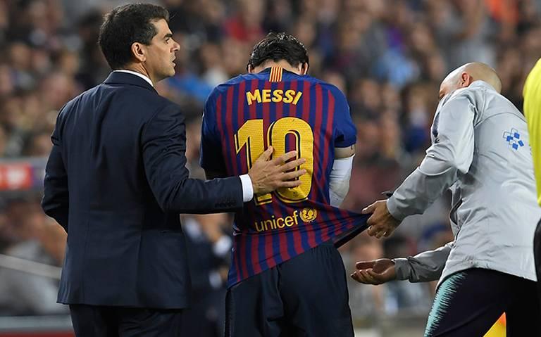 ¡Adiós al Clásico español! Messi, fuera tres semanas por fractura
