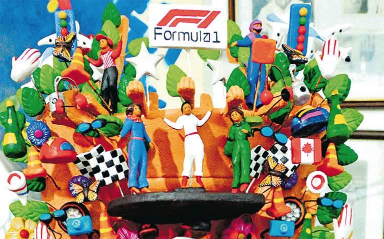 El trofeo para este año de la Fórmula 1 será un Árbol de la Vida