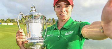 Gabriela López, se convierte en la segunda golfista mexicana en ganar un torneo de LPGA
