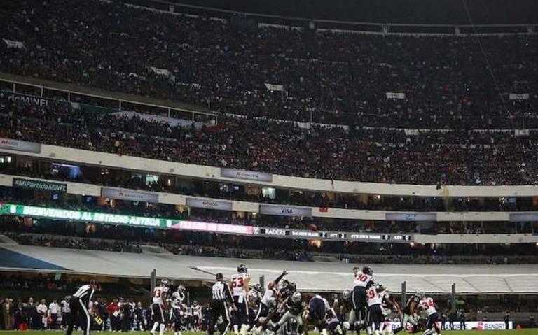 Por malas condiciones en el Azteca, NFL podría suspender el Monday Night México