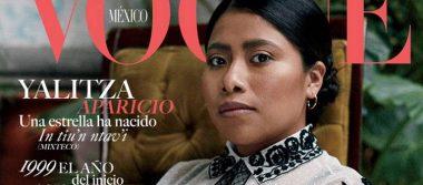 ¡En portada! Yalitza Aparicio conquista en Vogue México