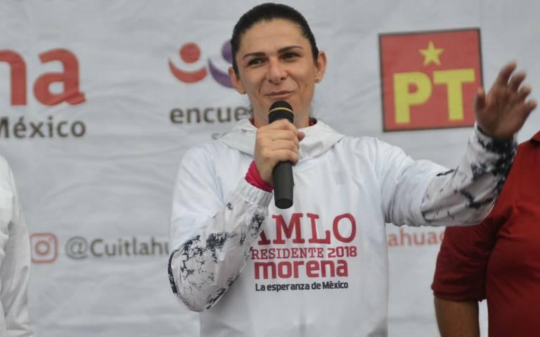 Ana Guevara a tomar las riendas del deporte nacional