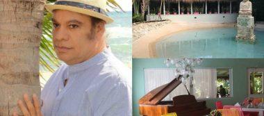 Descansa como Juan Gabriel; casa del divo será lujoso hotel en la Riviera Maya