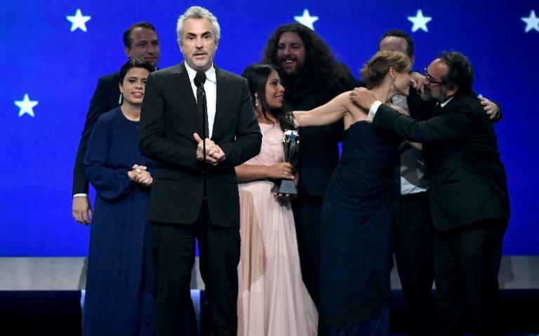 Cuarón arrasa en los Critics' Choice Awards, Roma se lleva cuatro premios
