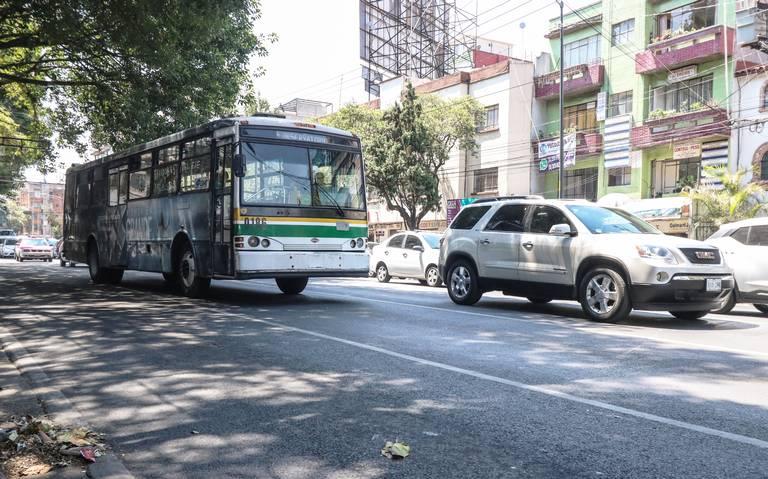 Estas son las rutas de transporte más peligrosas de la ciudad