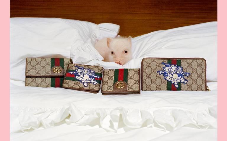 Gucci sorprende con su nueva colección inspirada en el cuento de Los Tres Cerditos