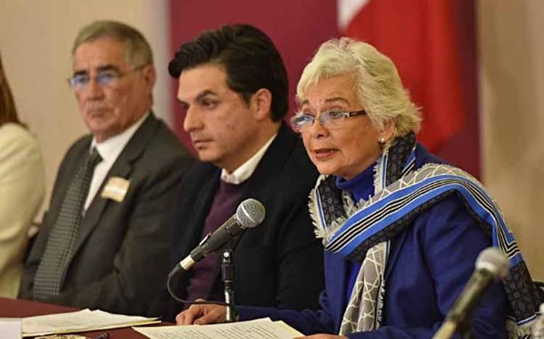 Liberados 200 mdp a Michoacán para pagos a CNTE: Olga Sánchez
