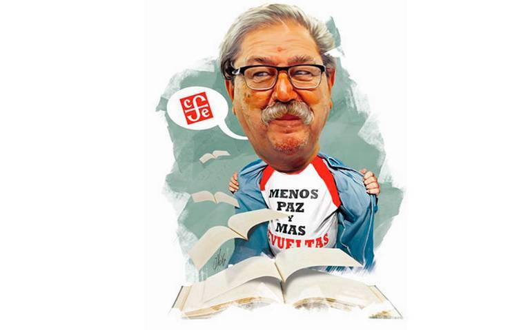 Paco Ignacio Taibo II, su objetivo: democratizar la lectura