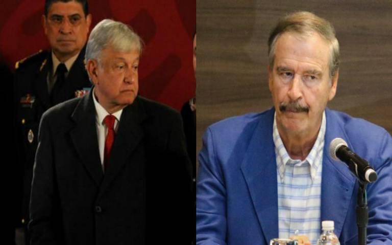 AMLO señala a ex presidentes por huachicoleo; Fox se defiende